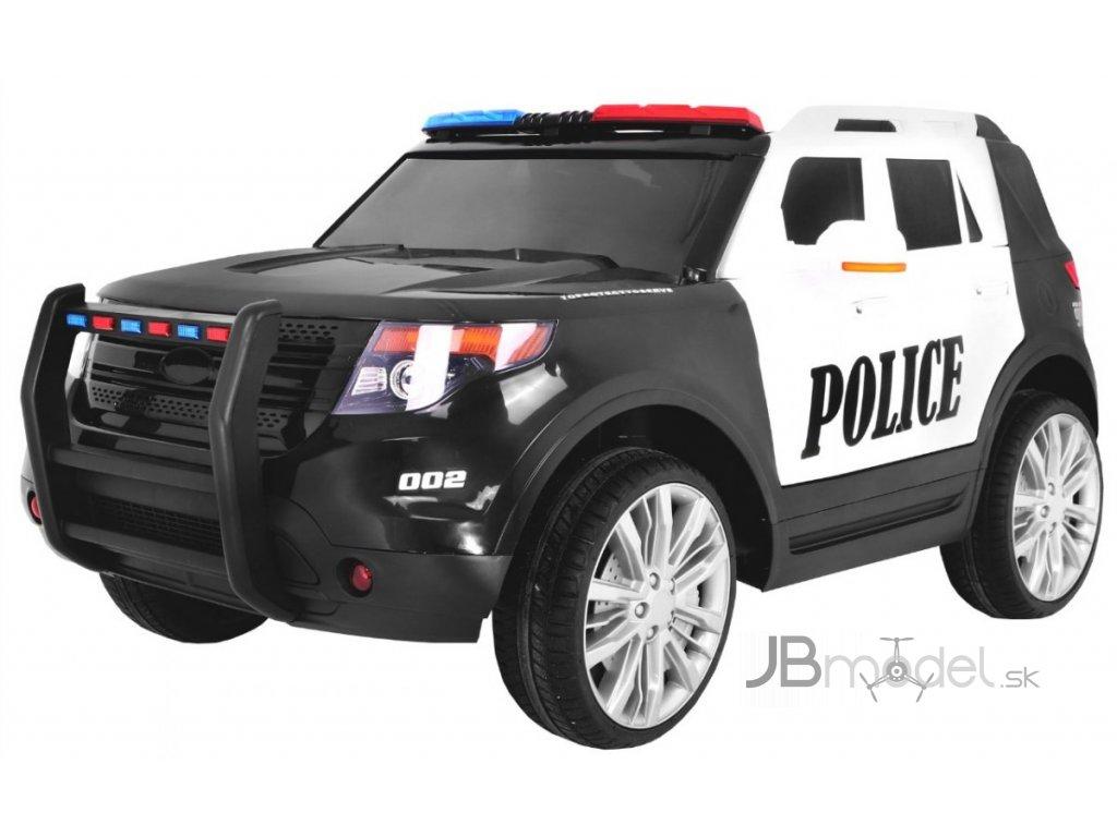 Elektrické autíčko - policajné SUV vo verzii VIP