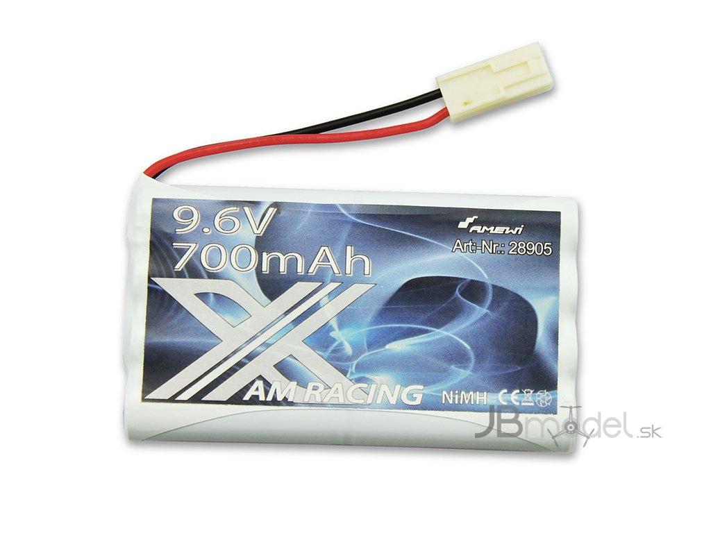 Batérie Ni-MH 700 mAh 9.6V (tamiya konektor)