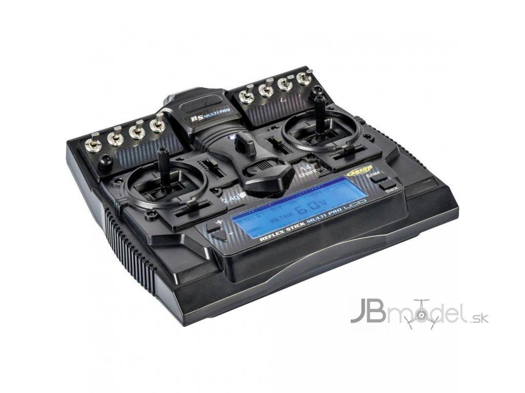 Pultový vysielač CARSON REFLEX STICK MULTI PRO LCD