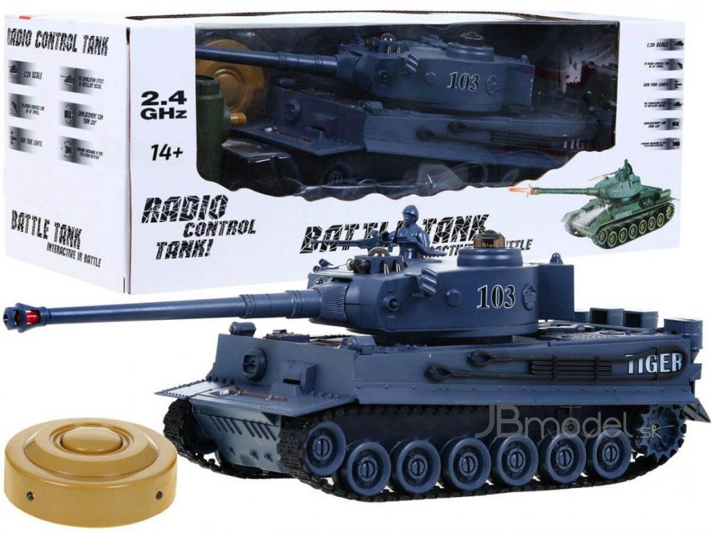 RC tank TIGER 1:28 2.4 GHZ infra