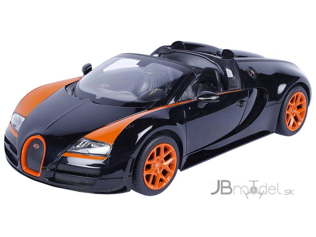 Rastar Bugatti Veyron Grand Sport 1:14 - licencované rc auto na diaľkové ovládanie