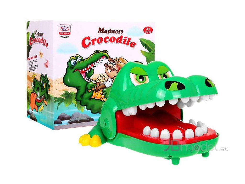 Hra Nahnevaný krokodíl u zubára