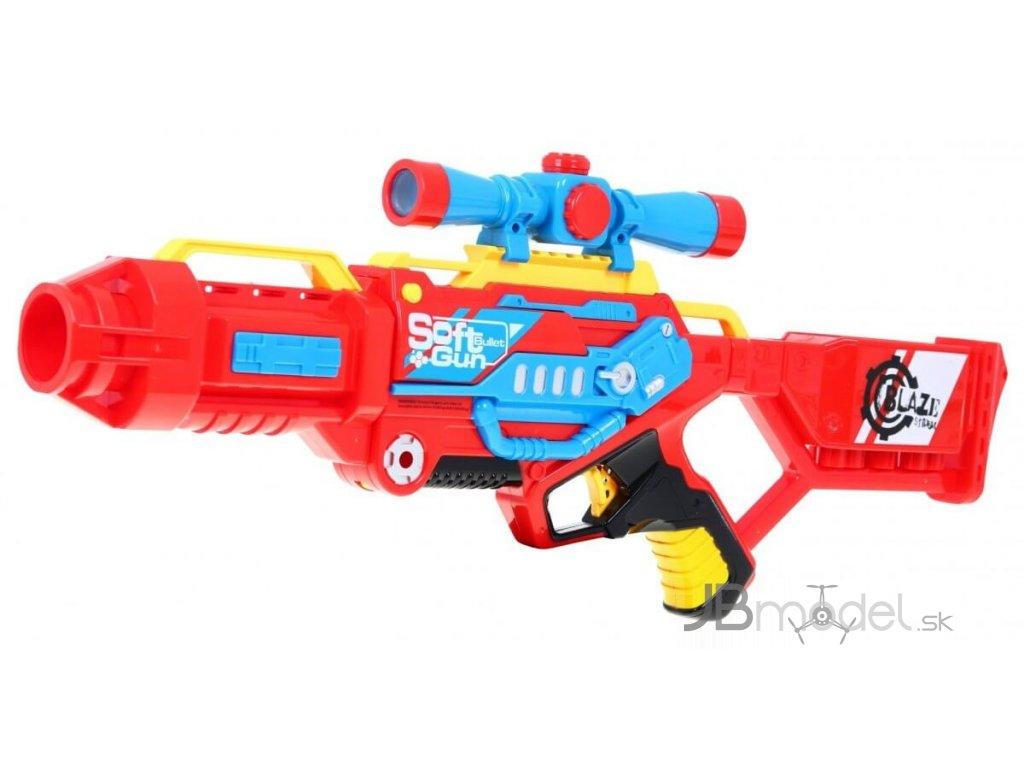 Blaze Storm puška červená