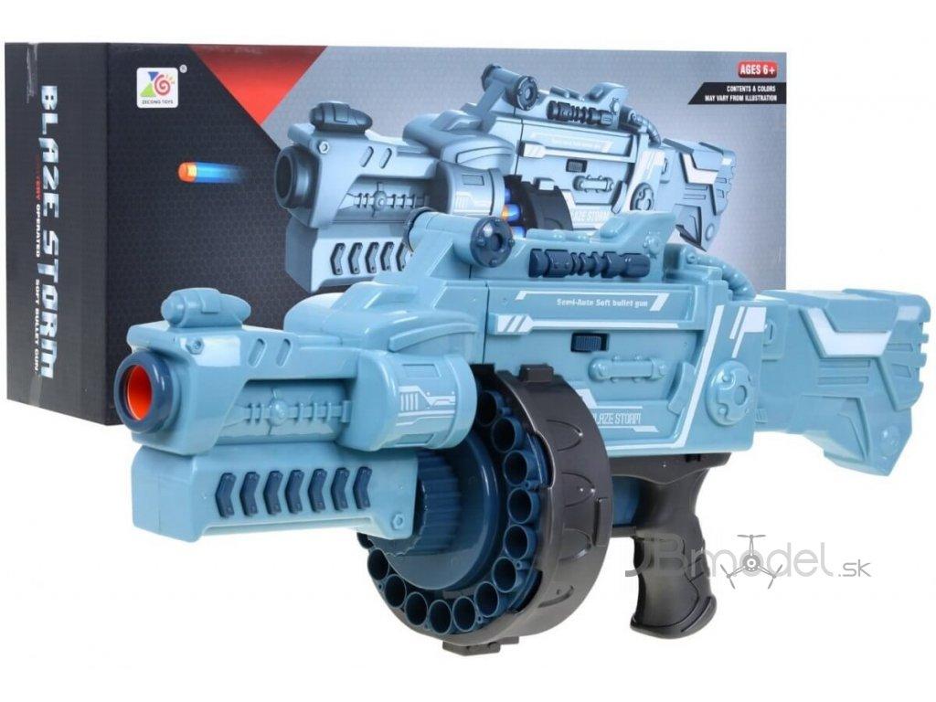 Blaze Storm puška strieborná
