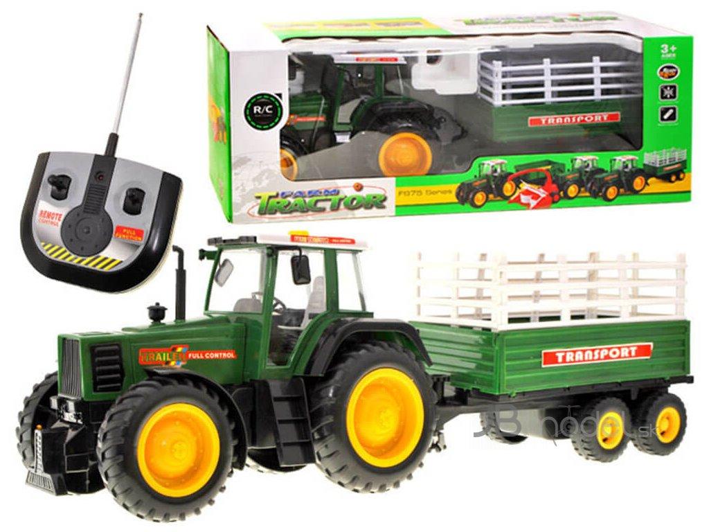 RC Veľký traktor s prívesom FARMER