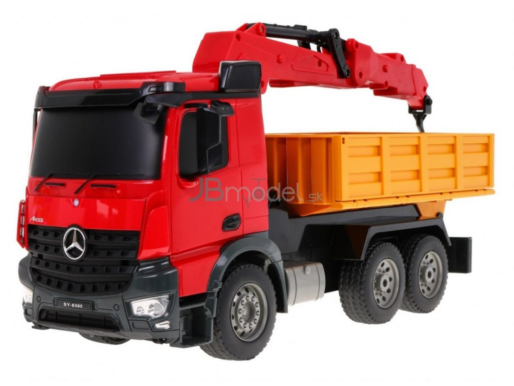 RC zdvíhač s ramenom Mercedes-Benz Arocs RTR 1:20