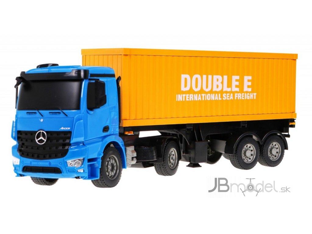 RC kontajnerový ťahač Mercedes-Benz RTR 1:20