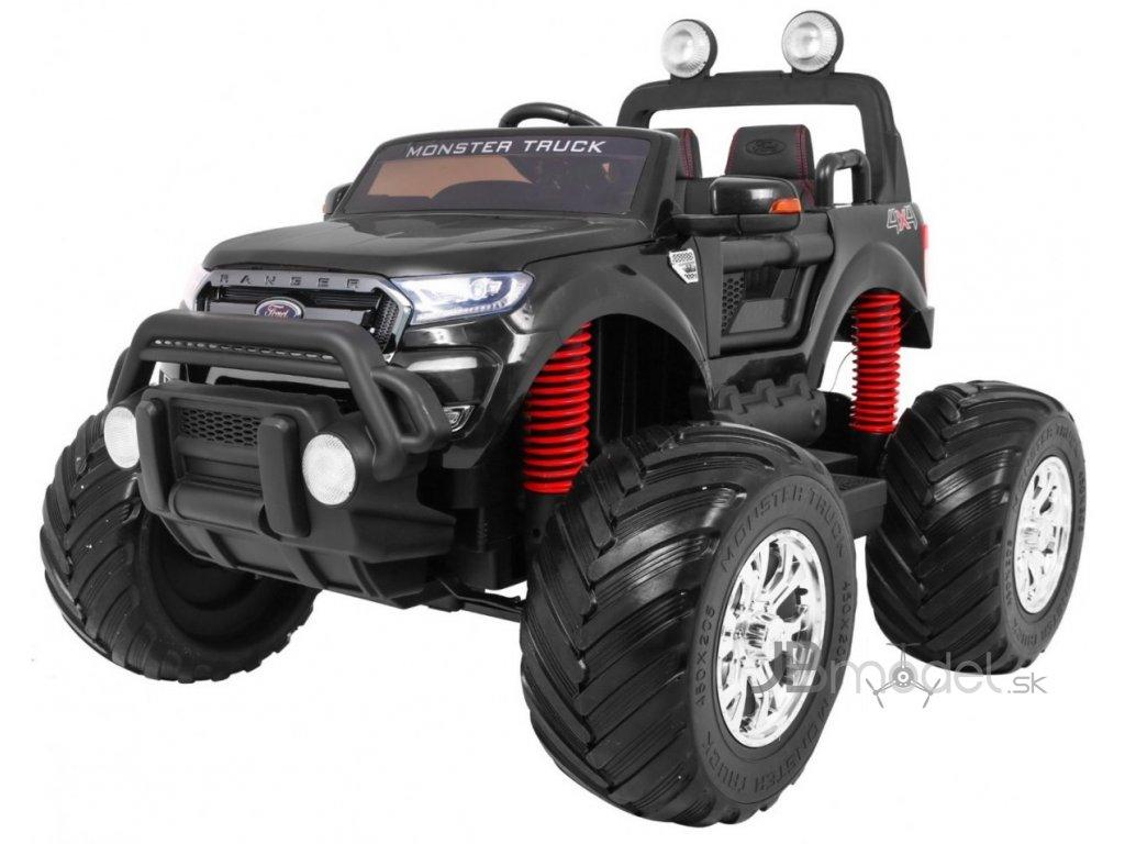Elektrické autíčko Ford Ranger MonsterTruck 4x45W čierne