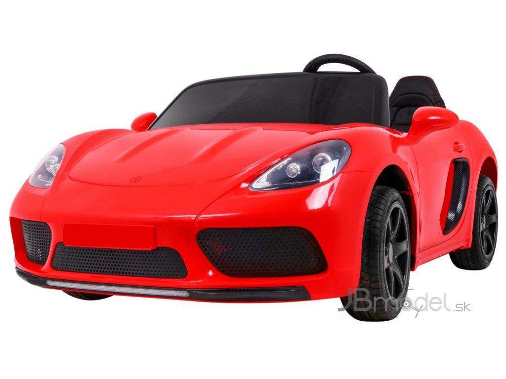Elektricke autíčko Super Sport XL 24V 2x180W červená