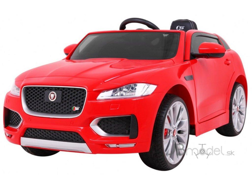 Elektrické autíčko Jaguar F-Pace 2x45W červená