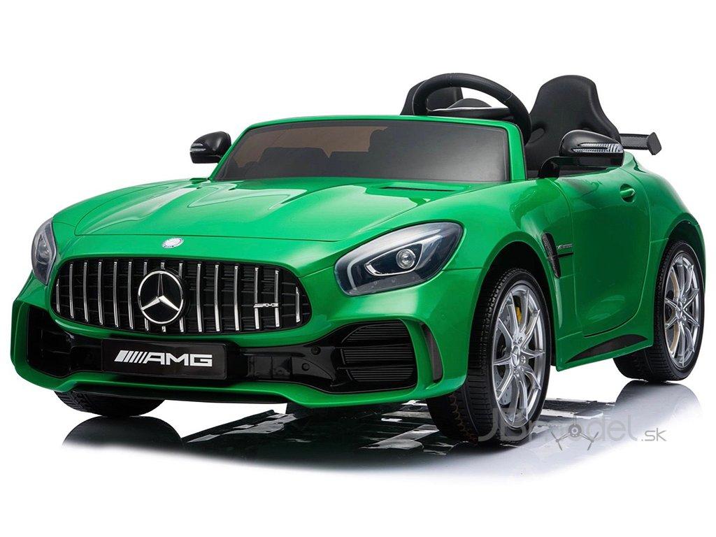 Elektrické autíčko Mercedes-Benz GTR LUX 4x45W zelené