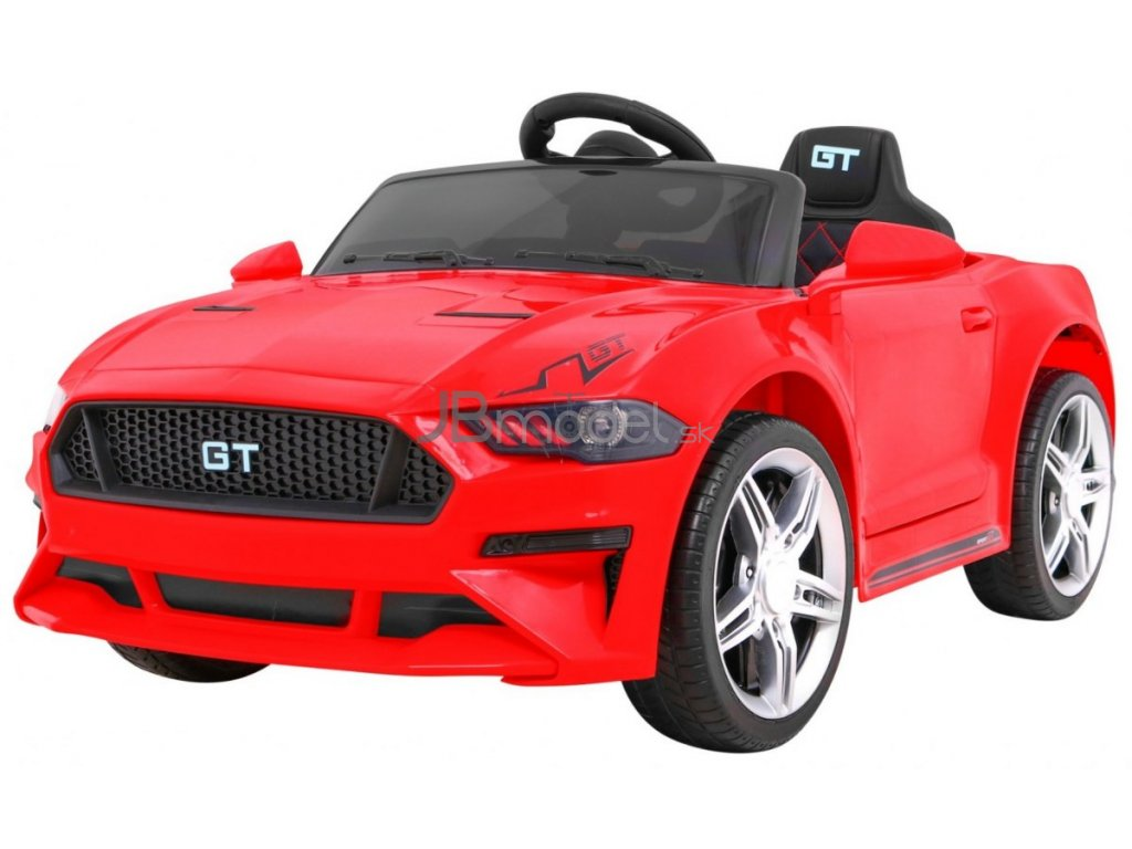 Elektrické autíčko Mustang GT Sport type 2x45W červená