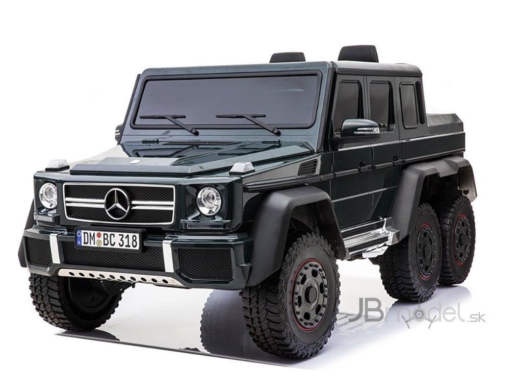 Elektrické autíčko Mercedes G63 6x6 small 4x45W čierny