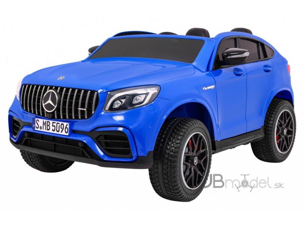 Elektrické autíčko Mercedes GLC 63S 4x45W modré