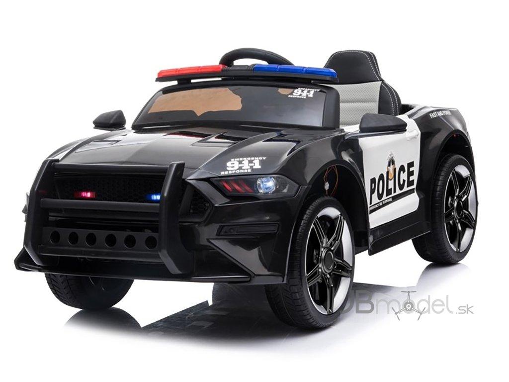 Elektrické autíčko Mustang Polícia 2x45W