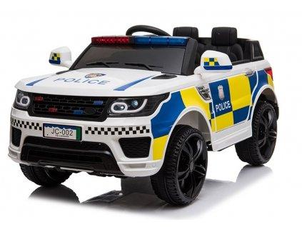 Elektrické autíčko Land Rover Polícia 2x45W