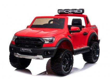 Elektrické autíčko Ford Ranger Raptor 2x45W červená