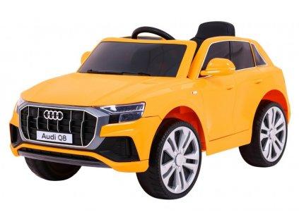 Elektrické autíčko Audi Q8 2x45W oranžová
