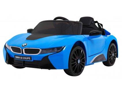 Elektrické autíčko BMW i8 2x45W oranžové