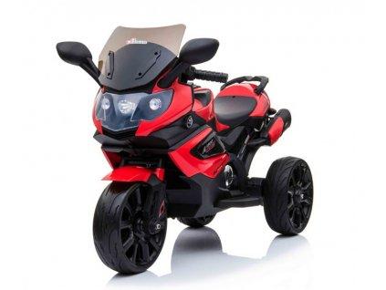 Detská elektrická mini motorka Grand Sport červená