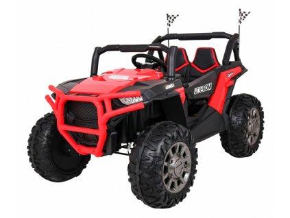 Elektrické autíčko JEEP UTV-BOM 4x45W červený