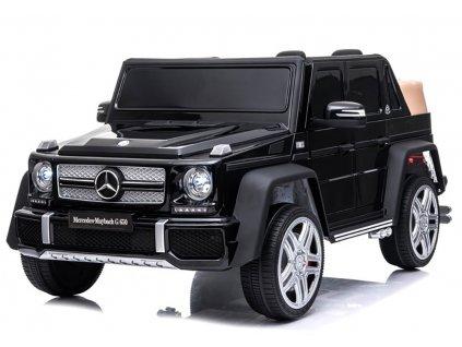Elektrické autíčko Mercedes G650 MAYBACH 2x45W čierna
