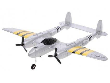 RC lietadlo LOCKHEED P-38 LIGHTNING EPP