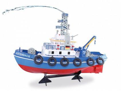 RC loď pobrežná stráž TC-08 s vodným delom RTR 1:1