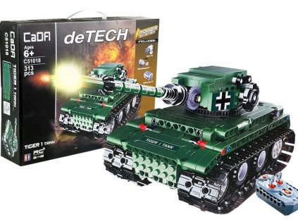 RC stavebnica tank TIGER CADA C51018W RTR 1:1