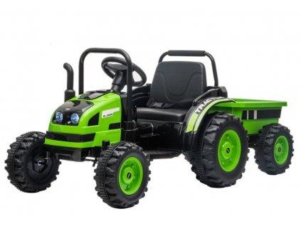 Elektrický detský traktor HL388 2x45W zelený