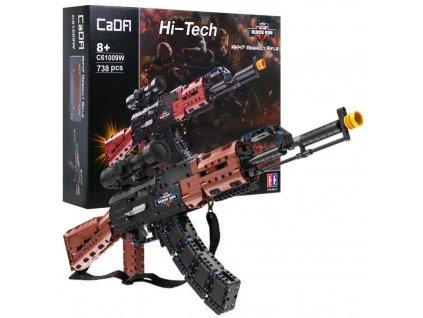 RC stavebnica Samopal AK-47 CADA 61009W RTR 1:1