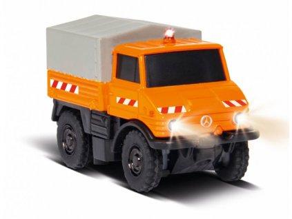 RC auto MB Unimog U406 smetiari RTR 1:87