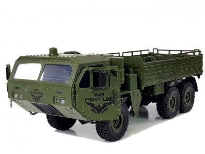 RC terénny vojenský transporter 6x6 RTR 1:1