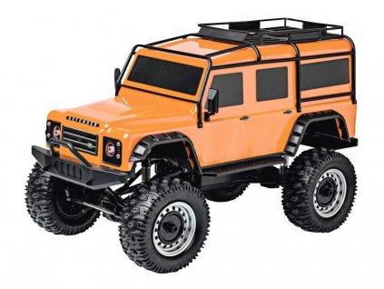 RC auto LAND ROVER DEFENDER CRAWLER 4X4 RTR 1:8 oranžová