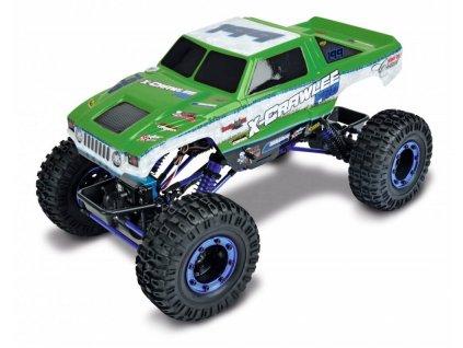 RC auto X-CRAWLEE PRO 4X4 RTR 1:10 zelená