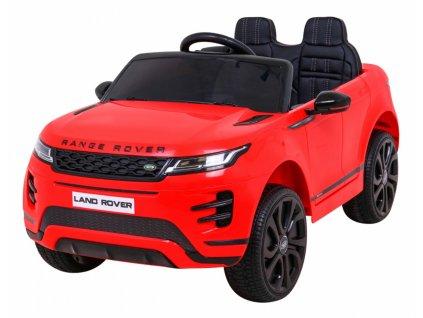 Elektrické autíčko Range Rover Evoque 2x35W červená