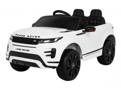Elektrické autíčko Range Rover Evoque 2x35W biela