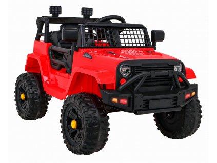 Elektrické autíčko Jeep Dark Night 2x35W červená