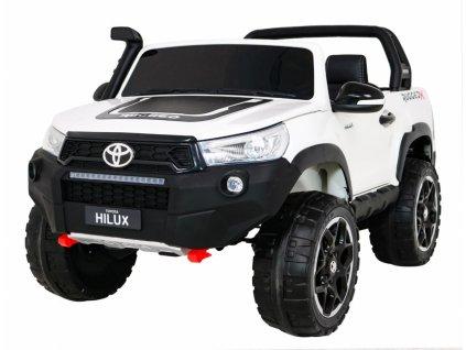 Elektrické autíčko Toyota Hillux 4x45W biela