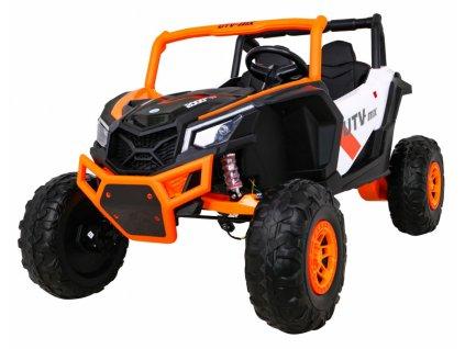Elektrické autíčko JEEP UTV-MX STRONG 4x60W oranžová