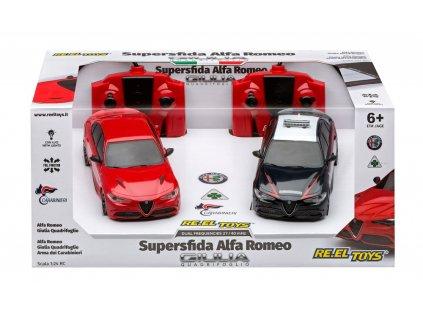 RC auto Superfida ALFA ROMEO 2v1 RTR 1:24