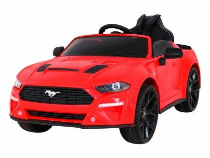 Elektrické autíčko Ford Mustang GT 2x35W červená