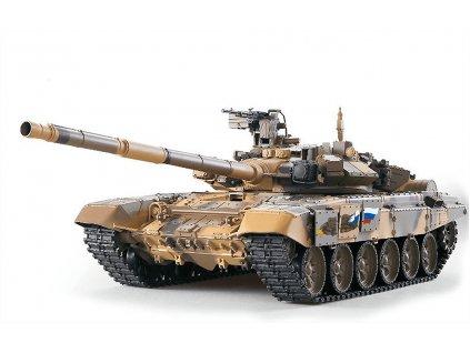 RC tank T-90 1:16 - airsoft, dym, zvuk, kov. prevodovka