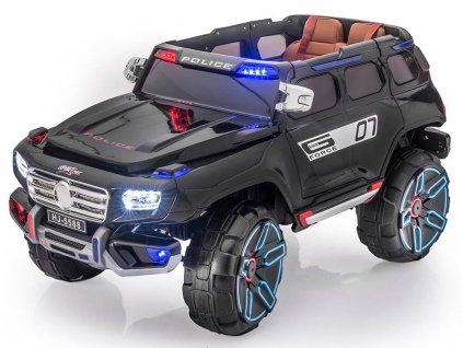 Elektrické autíčko SUV G-Force policajné