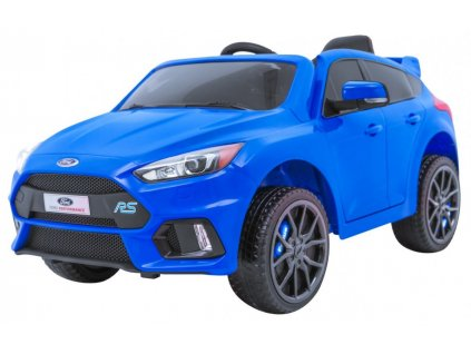 Elektrické autíčko FORD Focus RS 2x35W modrá