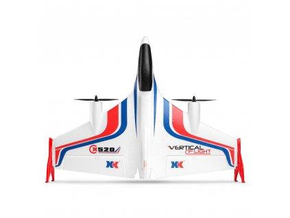 X520 VTOL VERTICAL FLIGHT - unikátne rc lietadlo so stabilizáciou letu