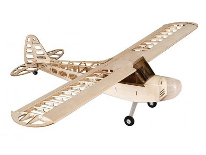 DW Hobby RC lietadlo PIPER J-3 1180mm LASERCUT KIT 1:1