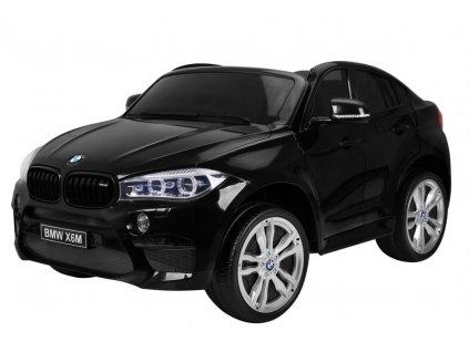 Elektrické autíčko BMW X6M LUX 2x120W čierna