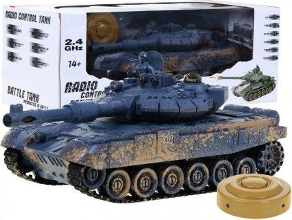 RC tank T-90 kamufláž 1:28 2.4 GHZ infra