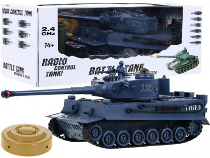 RC tank TIGER 1:28 2.4 GHZ infra